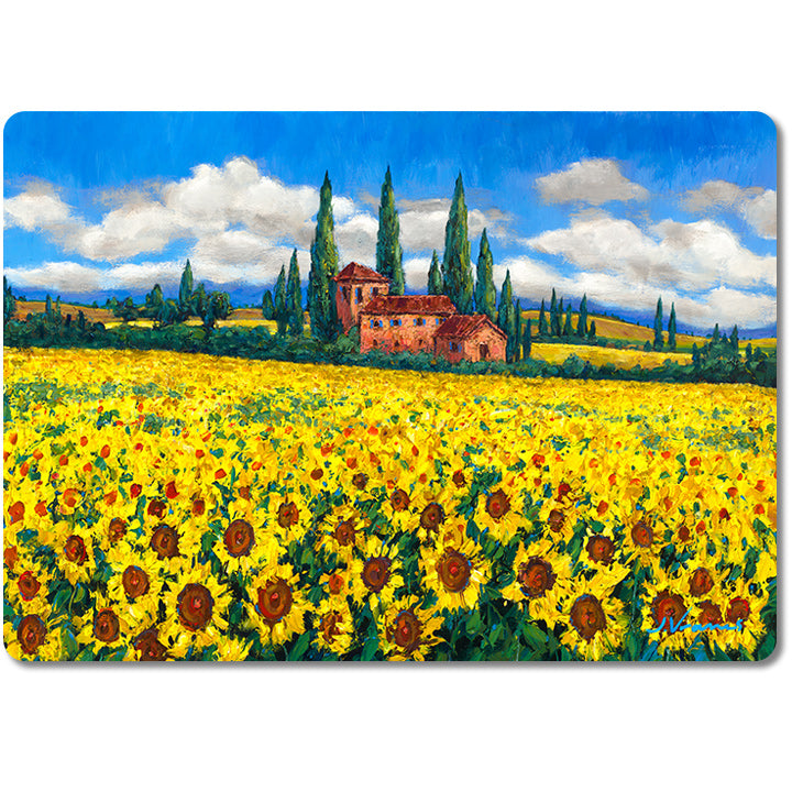 Toscana Gold - Premium Glass Art Cutting Board