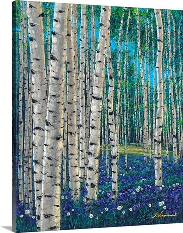 Spring Elegance - Limited Edition Fine Art Giclée by Jennifer Vranes