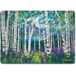 Peaceful Wonder - Premium Glass Art Cutting Board FREE Shipping