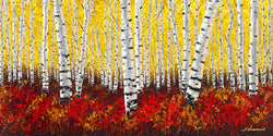 Mystical Forest - Limited Edition Fine Art Giclée by Jennifer Vranes