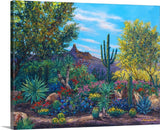 Desert Eden - Limited Edition Fine Art Giclée by Jennifer Vranes