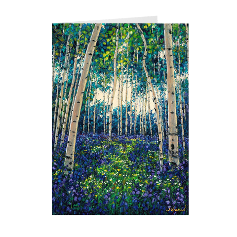 Wading through Heaven (5-pack) Art Greeting Cards, FREE Shipping