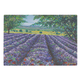 Lavender Bliss - Premium Glass Art Cutting Board