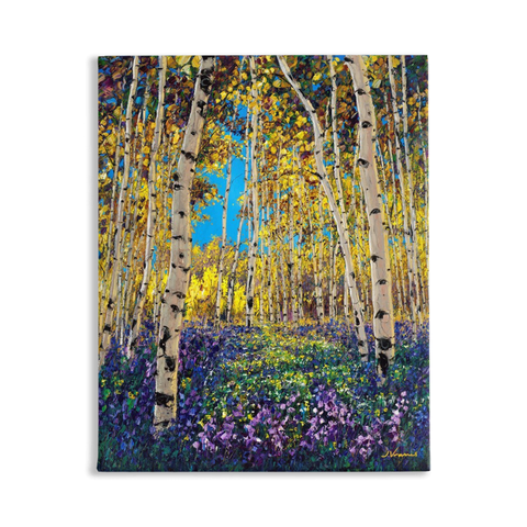 4 Seasons Collection, SUMMER, 20x16 Art Print on Canvas