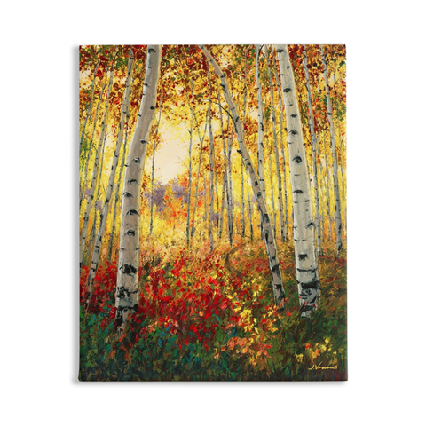 4 Seasons Collection, FALL, 20x16 Art Print on Canvas