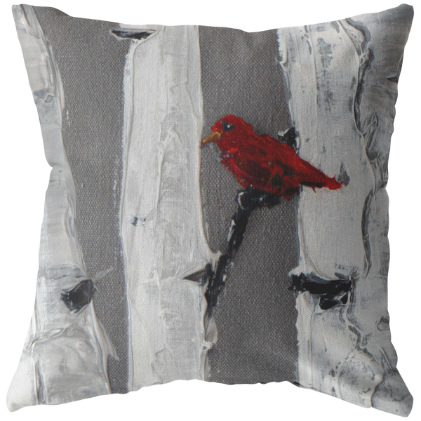 Love Birds Pillow Set (Right) - 18x18 - Free Shipping