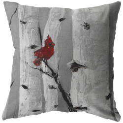 Love Birds Pillow Set (Left) - 18x18 - Free Shipping
