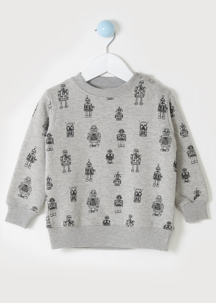 MINI ME ROBOT SWEATSHIRT