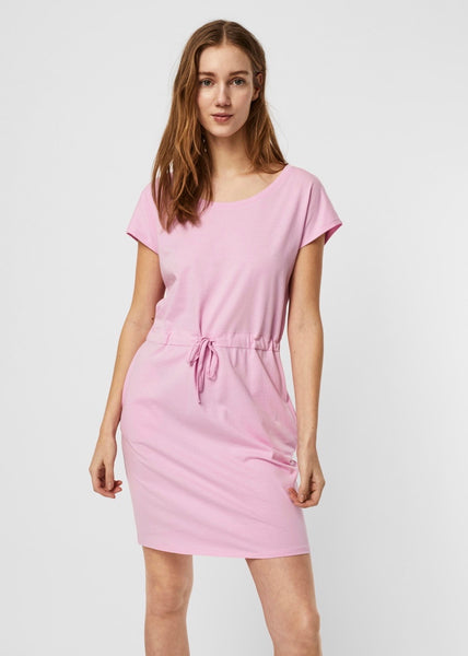 PASTEL LAVENDER T-SHIRT DRESS