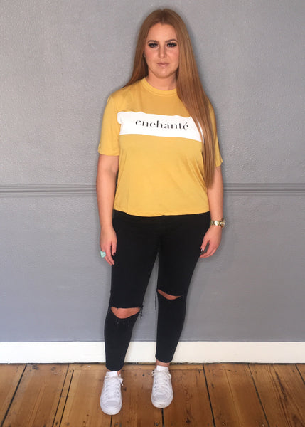 MUSTARD ENCHANTÉ TEE