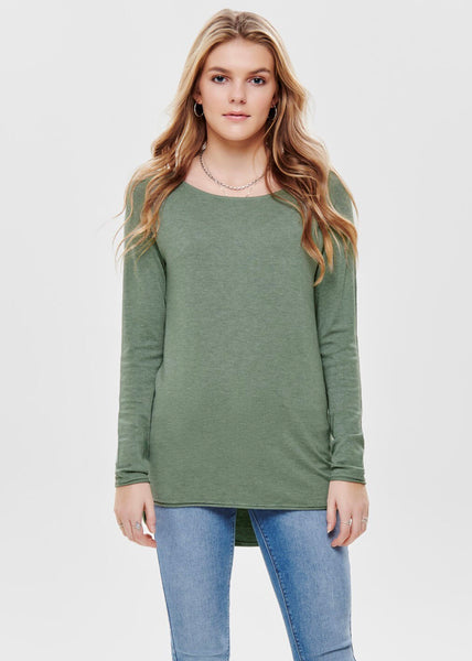 SAGE FINE KNIT JUMPER