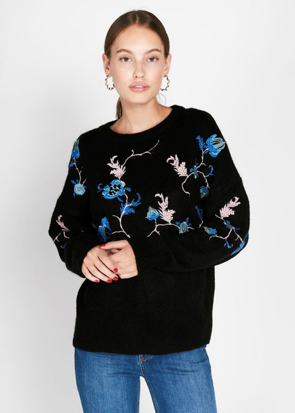 BOTANICAL FLORAL JUMPER