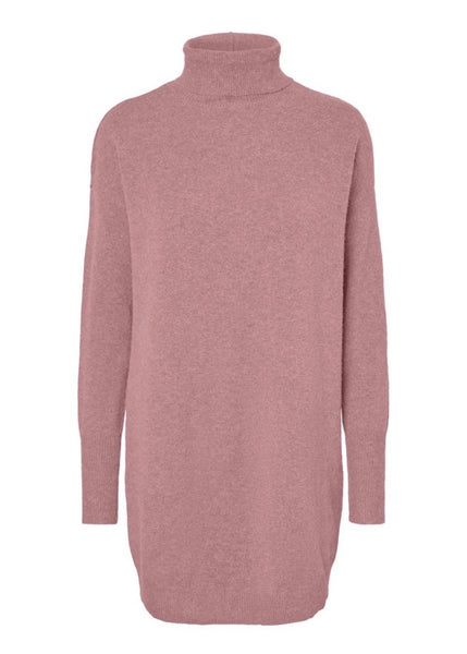 DUSTY PINK JUMPER DRESS