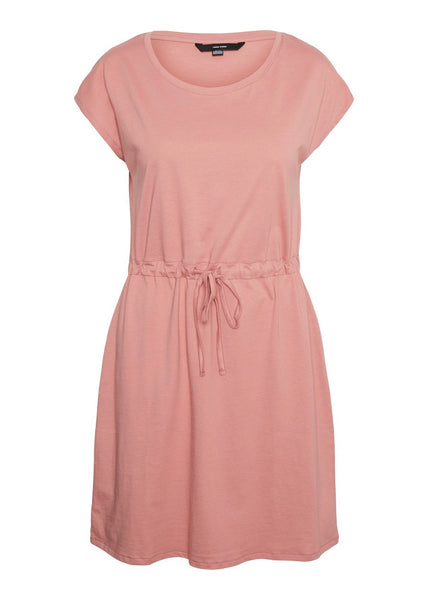 OLD ROSE T-SHIRT DRESS