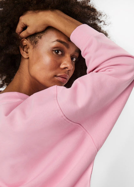 CANDY PINK OVERSIZED SWEATSHIRT