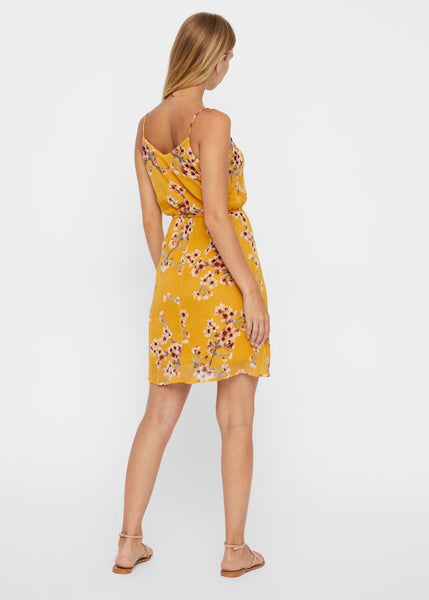 MUSTARD BLOSSOM CAMI DRESS