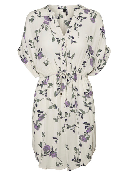 CREAM BLOSSOM TUNIC
