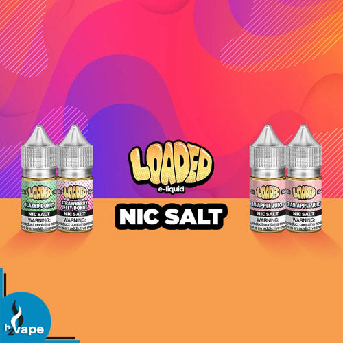 LOADED E-LIQUID NIC SALTS (RUTHLESS)