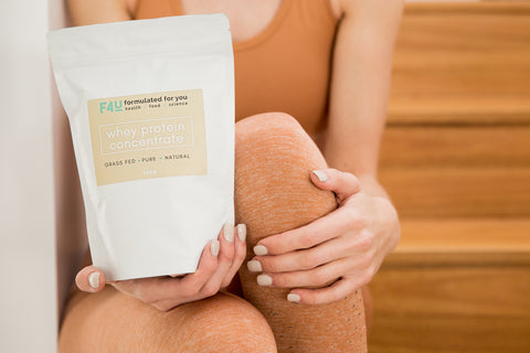Grass-fed Whey Protein Concentrate Powder - Formulated For You