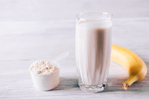Banana Protein Smoothie - Formulated For You Meal Replacement Shakes