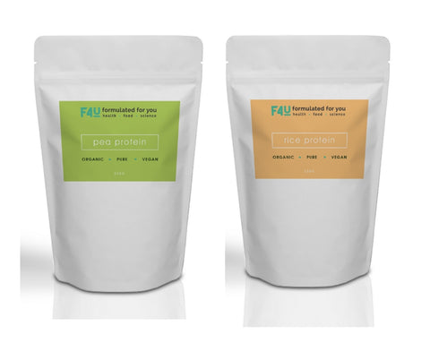F4U Organic Vegan Protein Pack - Formulated For You