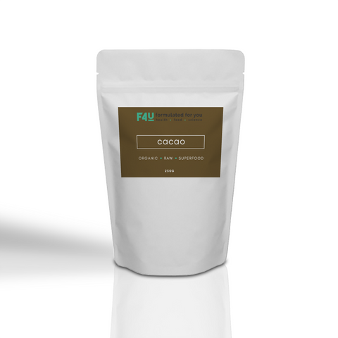 F4U Organic Raw Cacao Powder 250g - Formulated For You