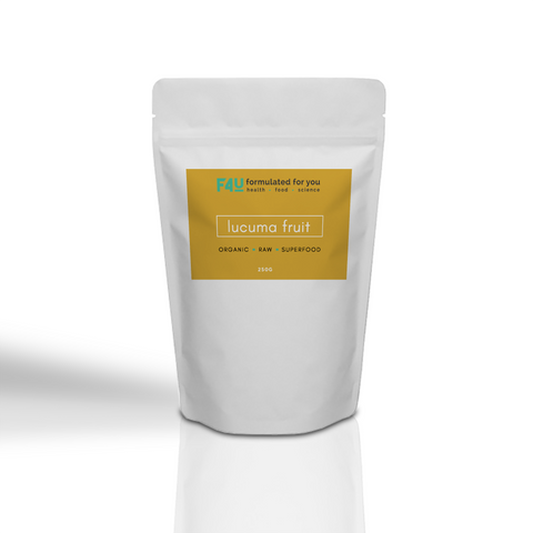 F4U Organic Lucuma Fruit Powder 250g - Formulated For You
