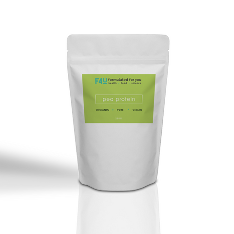 F4U Organic Pea Protein 250g - Formulated For You