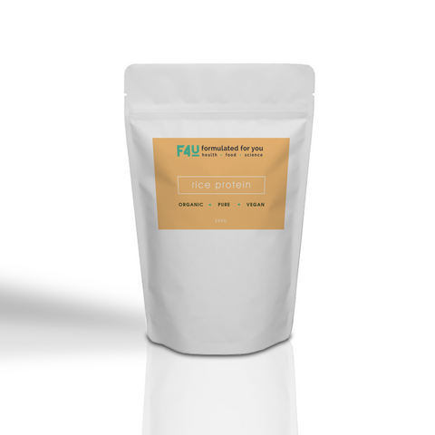 F4U Organic Rice Protein 250g - Formulated For You