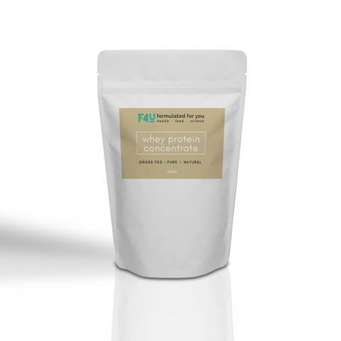 F4U Whey Protein Concentrate (WPC) 250g - Formulated For You