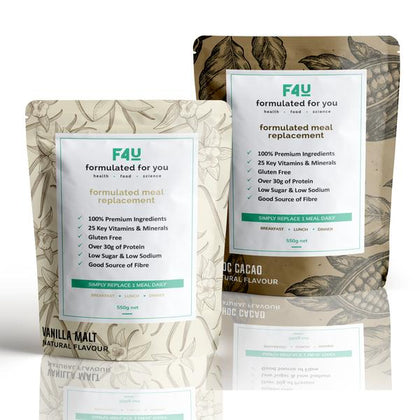 F4U Meal Replacement Kick Starter Pack (20 meals) - Formulated For You