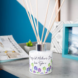 First Mother's Day Floral Patterned Personalised Reed Diffuser - Olivia Morgan Ltd