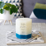 Recycled Wax Octagon Anniversary Scented Candle - Olivia Morgan Ltd