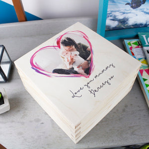 First Mother's Day Personalised Photo Keepsake Box - Olivia Morgan Ltd