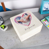 Mum To Be Personalised Photo Keepsake Box - Olivia Morgan Ltd
