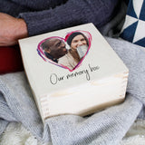 Couples Photo Wooden Keepsake Box
