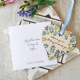 Thinking Of You Decoration And Card Letterbox Gift - Olivia Morgan Ltd