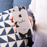 Cat Personalised iPhone Case - Olivia Morgan Ltd