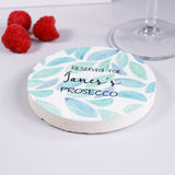 Reserved For Gin Or Prosecco Personalised Coaster For Her - Olivia Morgan Ltd