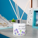 Floral Patterned Personalised Reed Diffuser For Grandma - Olivia Morgan Ltd