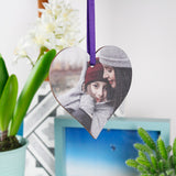 Mummy And I Photo Heart Decoration - Olivia Morgan Ltd