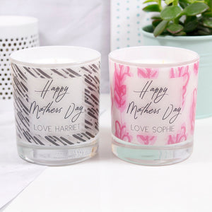 Mother's Day Scented Personalised Candle - Olivia Morgan Ltd