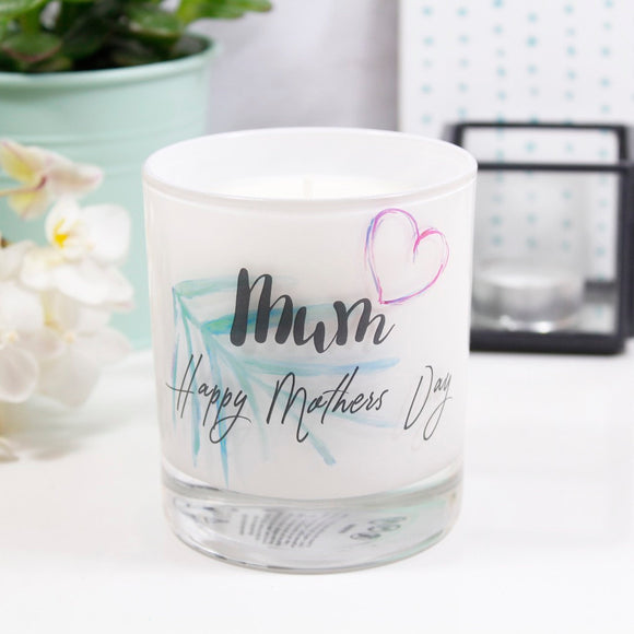Tropical Personalised Mother's Day Scented Candle - Olivia Morgan Ltd