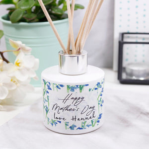 Mother's Day Patterned Personalised Reed Diffuser - Olivia Morgan Ltd