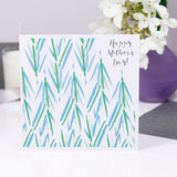 Patterned Tropical Leafy Mother's Day Card - Olivia Morgan Ltd