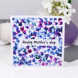 Happy Mother's Day Petals Pattern Card - Olivia Morgan Ltd