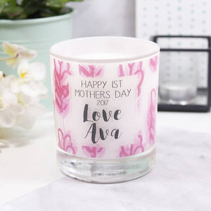 First Mother's Day Personalised Scented Candle - Olivia Morgan Ltd