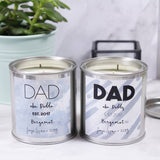 Paint Pot Scented Candle For Dad - Olivia Morgan Ltd