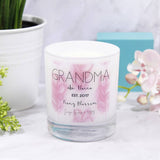 Grandma Mother's Day Personalised Scented Candle - Olivia Morgan Ltd