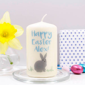 Easter Personalised Candle - Olivia Morgan Ltd